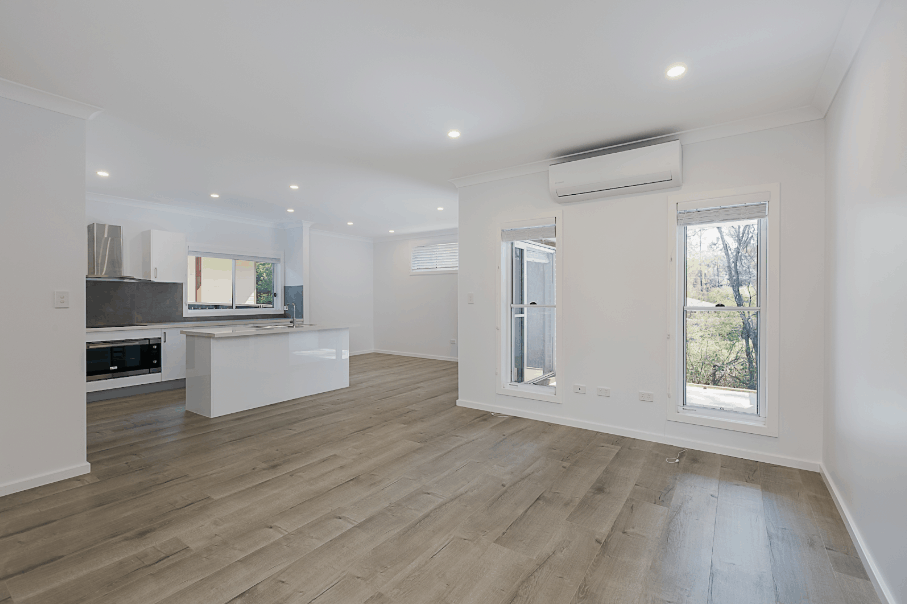 Interior of a Duplex in Cooranbong - Central Coast by Acrow Investments