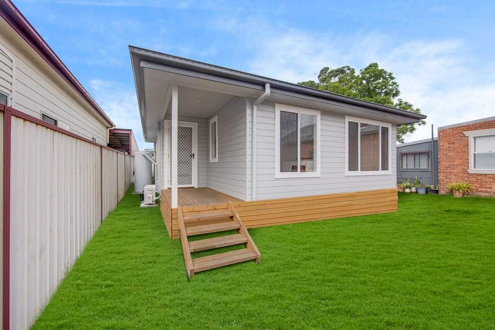 Granny flat with a luxury point of difference
