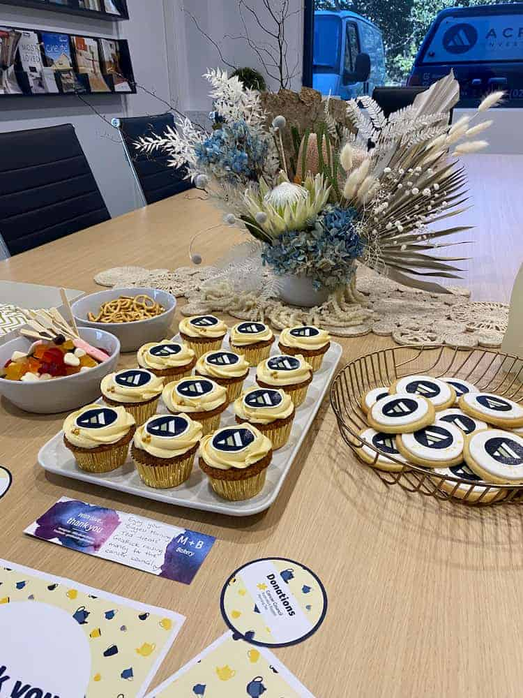 Acrow Investments hosted Biggest Morning Tea