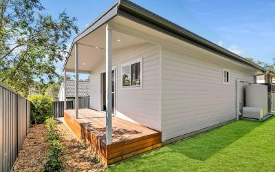A larger granny flat for a larger increase in rental return