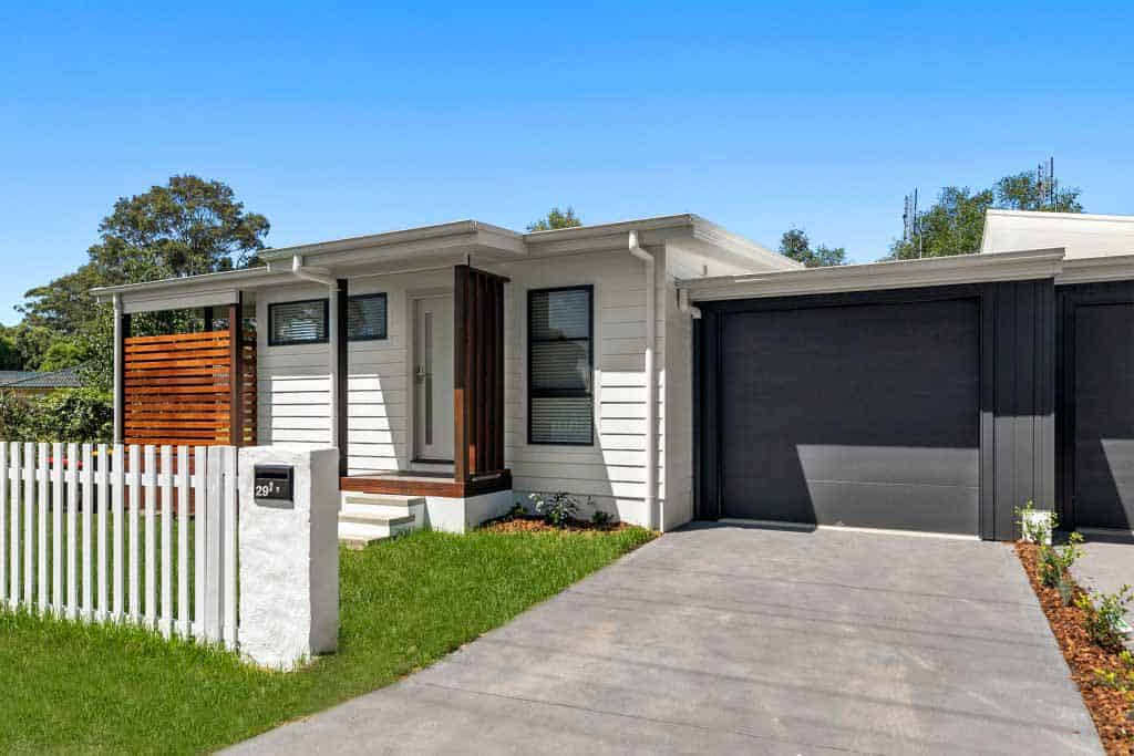 Attached Granny Flat Exterior Central Coast