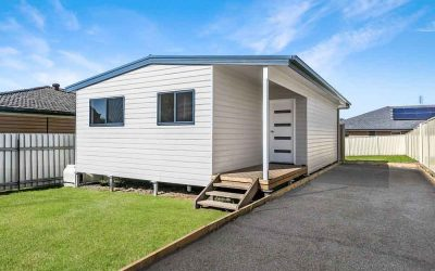 Beauty inside and out – a brand-new granny flat in Abermain