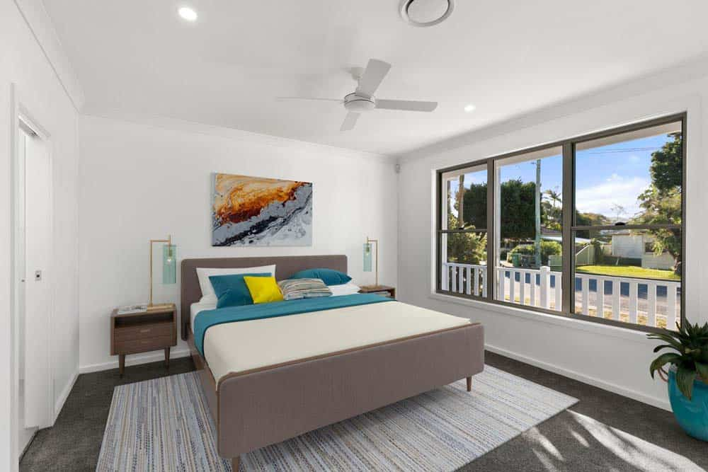 new beachside family home - bed room