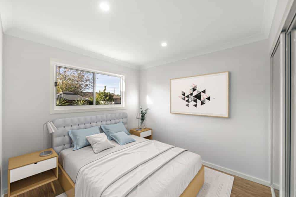Growing a property portfolio in San Remo - bed room