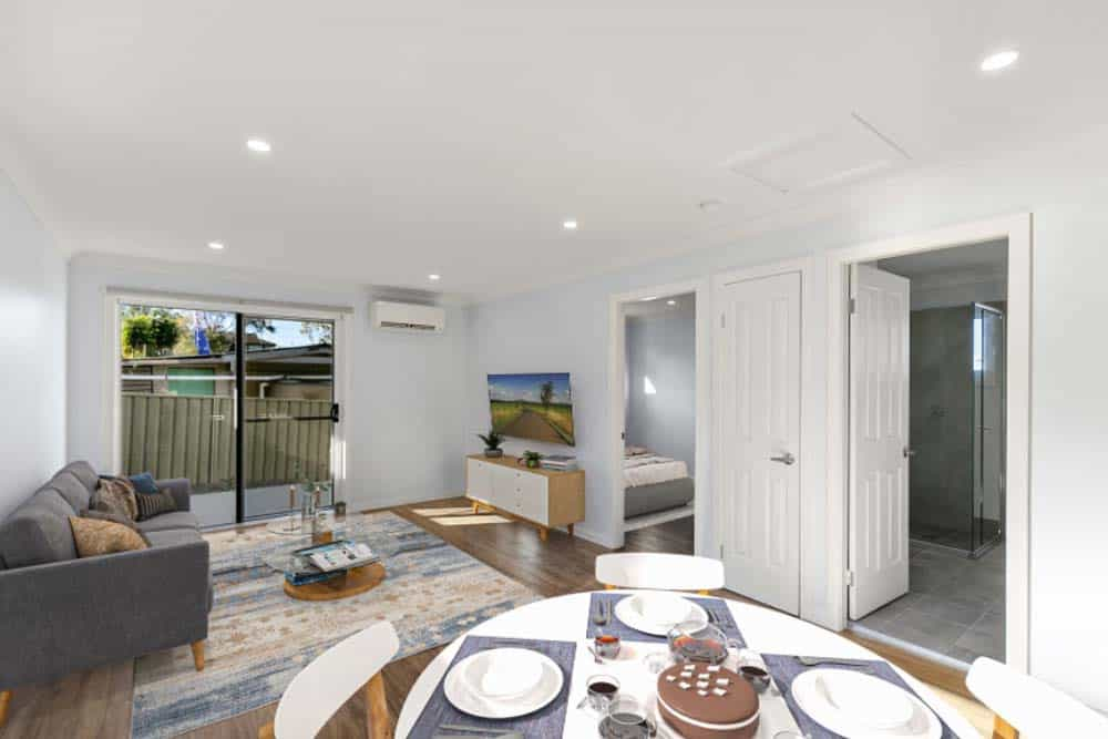 Growing a property portfolio in San Remo - living room
